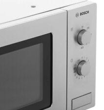Bosch Freestanding Microwave Oven 17 Litre Control Dial 800 Watt Manual