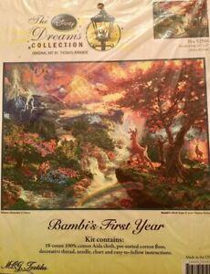 Thomas kinkade Disney Bambi Cross Stitch Pattern/chart Only