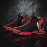 Men's Casual Shoes Sneakers Athletic Sports Fashion High Top Outdoor Gym Shoes