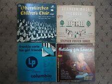 """12 10"""" Vinyl 33 rpm Chirstmas Holiday Ink Spots Mozart Waltzes Operu Ariju"""