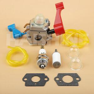 Carburetor Kit For Poulan FL1500 FL1500LE Gas Weed Eater Featherlite Leaf Blower