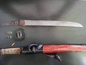 Japanese Antique Tanto in handachi mounts           Katana Tsuba wakizashi