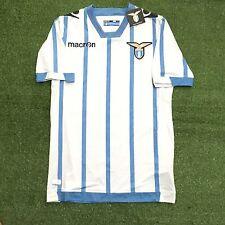 Mens Macron Lazio 3rd 2014 NWT Size L Football Soccer Shirt Jersey Trikot