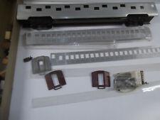 2 Rail-  2 KITS Aluminum Passenger Car KITS from with extra parts 1960's