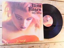 NINA HAGEN MY WAY EP MAXI 45T NO LP VINYLE EX COVER VG+ ORIGINAL 1980