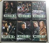CSI Crime Scene Investigation 6 DVD Quarta Stagione 4 Eps 24 C S I Vol.1/6 C S I