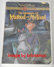 Authentic The Adventures of Ichabod and Mr. Toad DVD 2000 Disney Gold Sealed