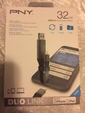 PNY Technologies 32GB Apple Duo Link Sync & Charge