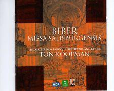 CDTON KOOPMANBiber - Missa SalisburgensisGERMAN 1999 EX+   (R2611)
