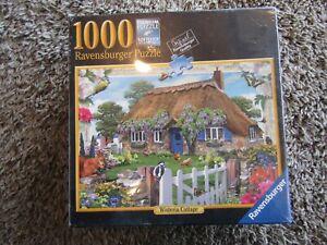 "NIB Ravensburger ""Wisteria Cottage"" 1000 Piece Jigsaw Puzzle # 81 112"