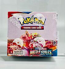 Pokemon English Boosters Box Battle Styles Factory Sealed