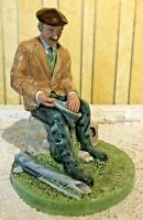 ROYAL DOULTON FIGURE THE FISHERMAN MAN FISHING MODEL No. HN 4511 PERFECT