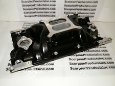 SBC SMALL BLOCK CHEVY Aluminum Intake Vortec Dual Plane Powder Coated 350,383
