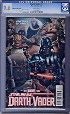 Darth Vader # 1 Newbury Comics Variant Cover Cgc 9.6 Marvel 2015