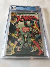 Marvel 1976 X-Men #100 CGC 5.5 - Old X-men vs New X-men