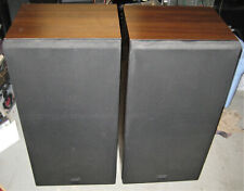Vintage Pair Kenwood Trio JL-810W Speakers with ribbon tweeters -- Very nice