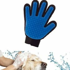 Massage Glove Deshedding Gentle Efficient Hair Removal Grooming Dogs Cats Bath