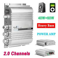 2.1 Channel Car Power Amplifier Heavy Bass HiFi Stereo Mini Audio Subwoofer AMP