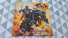 Turbo. Last Warrior LP 1. press 1988 METALLICA SLAYER VENOM Manilla Road voulait