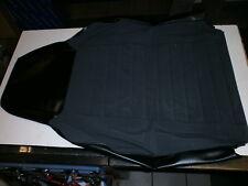 Golf 1 VW 1303 Sitzbezug schwarz Stoff/Kunstleder 171 881 805 G  BU4 VW NOS