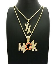MGK & EST 19xx Chain Set Necklace 14k Gold Plated