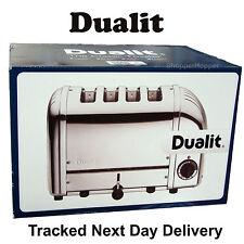 Dualit 4 Slice Vario AWS Toaster Polished Stainless Steel 40378 Dulit