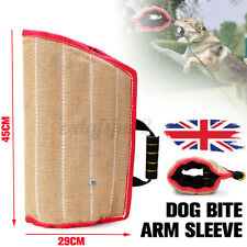 More details for 45cm jute dog bite arm sleeve for training dog chewing protections safety