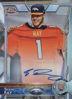 2015 Topps Chrome Mini Rookie Autographs Refractors #122 Shane Ray RC Auto