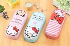 NEW School Pencil Case Hello Kitty Big Capacity Kids Pencil Bag Stationery Pouch