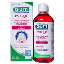 Gum PAROEX mouthwash Professional 0.12% control of bacterial plaque 500ml