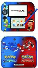 Pokemon Omega Ruby Alpha Sapphire Game Skin for the Nintendo 2DS console