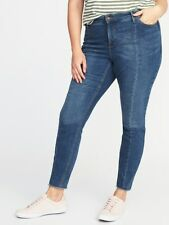 Plus Size 20 SHORT OLD NAVY ROCKSTAR Stretchy JEANS Pants Womens Clothes NEW
