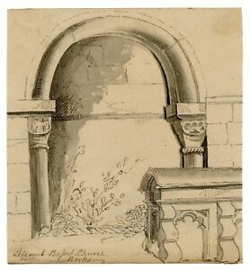An Antique British Drawing