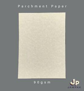 A4 REGAL PREMIUM PARCHMENT PAPER CREAM/VELLUM 90G, CERTIFICATE, ART & CRAFTS