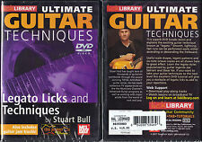 Lick Library Legato Licks & Techniques Guitar DVD