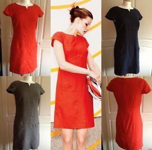 BODEN *Last few* Women Linen Barnsbury Shift Dress Tunic Linen UK sizes 6R 8L