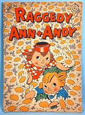 1947 Raggedy Ann & Andy Comic Book Dell 1st Series Johnny Gruelle Walt Kelly