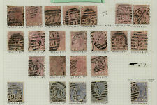 Great Britain nice lot of early stamps with better Mm0202