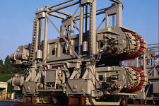 667076 Off Shore Oil Pipe Line Tension Control A4 Photo Print