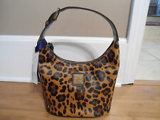 NEW Dooney & Bourke T Moro Bucket Bag Cheetah Ocelot NEW With Tags SOLD OUT