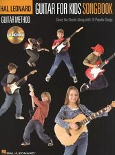 Guitar Method For Kids Songbook Learn to Play Pop Rock Guitar Music Book