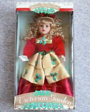 1998 Limited Edition Victorian Garden Porcelain Doll Holly