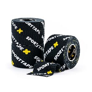 3 ROLLS SPORTTAPE Weightlifting Thumb Tape - EAB for Hookgrip, Crossfit, Lifting