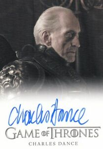 Game of Thrones Season 2 Charles Dance as Tywin Lannister Auto Card