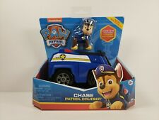 Paw Patrol Vehicle - Chase's Patrol Cruiser with removable Figurine - Ages 3+