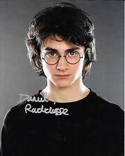 DANIEL RADCLIFFE Authentic SIGNED Autographed 8X10 Photo w/ COA HARRY POTTER