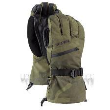 BURTON Mens 2020 Snowboard Snow - Gore-tex Gloves - Worn Camo