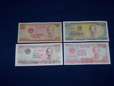 Lot of 12 Bank Notes from Vietnam Four Types