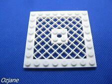 Missing lego brique 4151 A Rouge Red Plate 8 x 8 avec grille sans trou