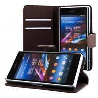 Sony Xperia Z1 compact mini Coque de protection Housse Pochette wallet Case